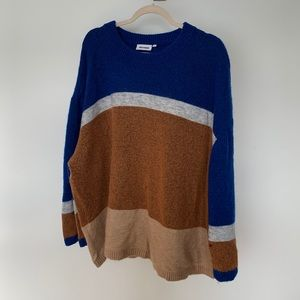 WEEKDAY Colour Block Sweater